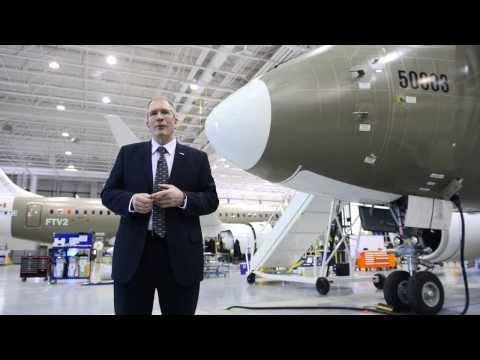 Singapore Airshow -- CSeries Program News with Rob Dewar