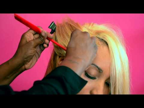 How to do a razor bob with a Illusion Edges and Part by Ms.Willaworld