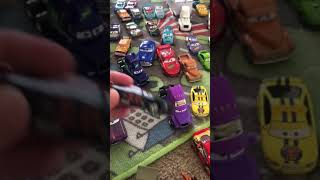 Kristopher's cars 3 collection die cast