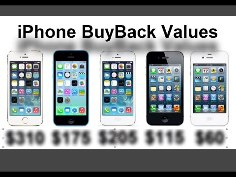 iPhone BuyBack Values and Procedure