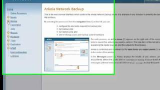 Arkeia Network Backup Product Suite Demo