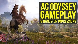 Assassin's Creed Odyssey Gameplay E3 - New Combat, Playable Characters & More (AC Odyssey Gameplay)