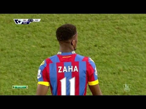 Wilfried Zaha Vs Tottenham Home HD 720p (10/01/2015)