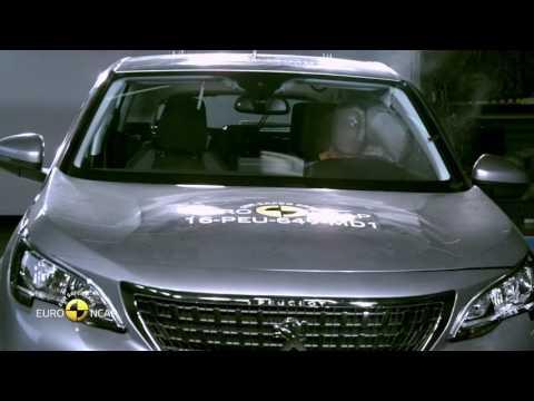 Euro NCAP Crash Test of Peugeot 3008