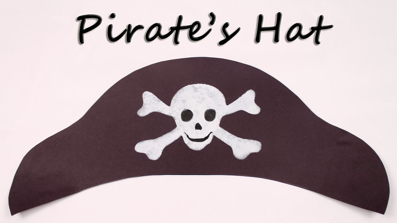 Pirate Hat Drawing How to make a Pirate Hat