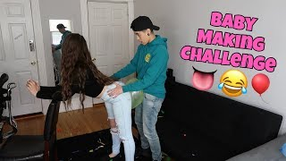 BABY MAKING CHALLENGE!!! *hilarious*
