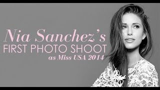 Nia's First Photo Shoot as Miss USA 2014
