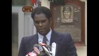 Bob Gibson 1981 Hall of Fame Induction Speech