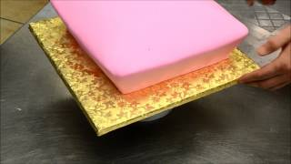 How to Shape and Design a Pillow Cake - Custom Cake Decorating Tutorial