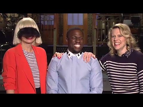 Sia's Strange Saturday Night Live Promo with Kevin Hart