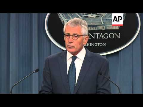 Defense Secretary Chuck Hagel took issue with the Iraqi prime minister's assertion that the U.S. has