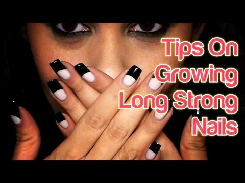 Tips On Growning Long Strong Nails