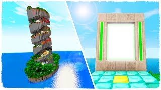 HOW TO MAKE A PORTAL TO THE DIMENSION OF PARKOUR 100% IMPOSSIBLE - MINECRAFT
