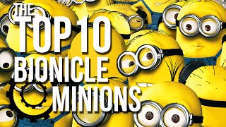 The Top 10 BIONICLE Minions