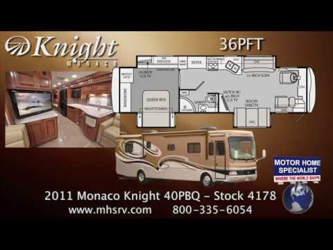 2011 Monaco Knight RV for Sale at Motor Home Specialist
