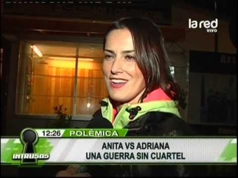 Adriana Barrientos subió foto de Anita Alvarado desnuda