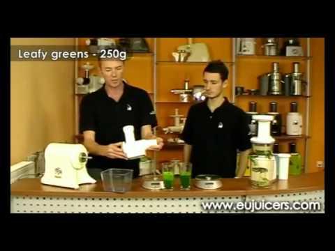 Jak wyciskają wyciskarki soku z warzyw i owoców Omega VRT i Champion 2000+ /CZĘŚĆ 2
