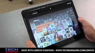 Lenovo ThinkPad Twist Video Review (HD)