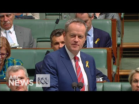 Bill Shorten pays tribute to former PM Tony Abbott