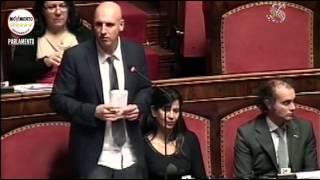 video L'intervento del portavoce M5S al Senato Carlo Martelli nel corso della seduta del 24 marzo 2015 sul ddl n. 1813 - decreto-legge n. 3, riforma banche popolari Segui Senato Cinque Stelle su:...