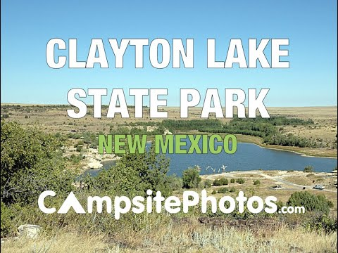 Clayton Lake State Park, NM  Campsite Photos