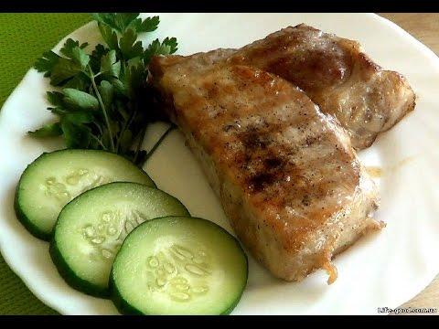 Как приготовить стейк из свинины - видео