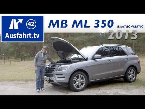 2013 Mercedes-Benz ML 350 BlueTEC 4MATIC - Fahrbericht der Probefahrt / Test / Review