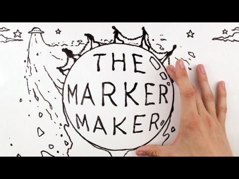 Stop Motion   Whiteboard Animation: The Marker Maker