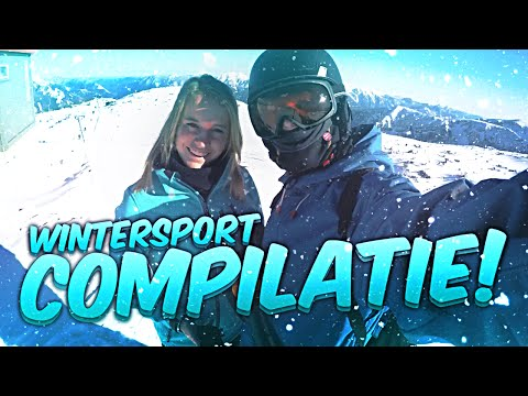 WINTERSPORT COMPILATIE!
