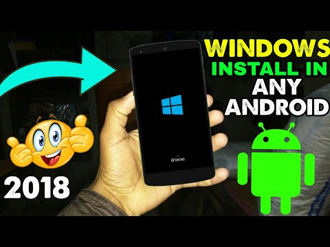 install Original Windows 10 System in Any Android || No Root Need || By Sandola