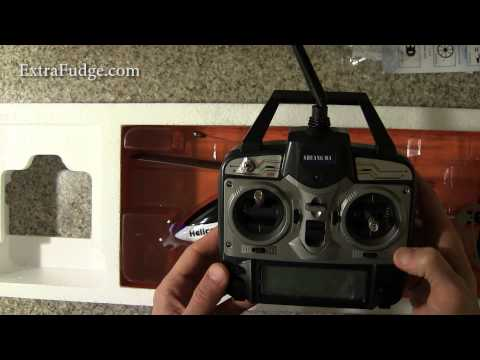 Double Horse 9116 2.4GHz 4 Channel RC Single Blade Helicopter Unboxing and Video Tour