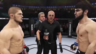 Khabib vs. Zabit (EA Sports UFC 3) - CPU vs. CPU