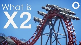 What is: X2 - Six Flags Magic Mountain
