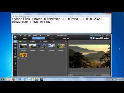 CYBERLINK POWER DIRECTOR 11 ULTRA 11.0.0.2321 FREE DOWNLOAD
