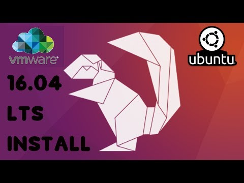 How to step by step install Ubuntu 16.04 LTS to Vmware Workstation Player