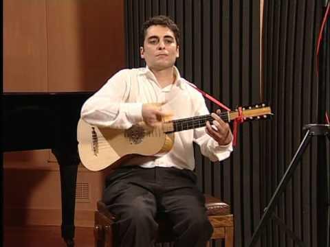 G.Sanz. Canarios. Fabrizio Capoleoni baroque guitar