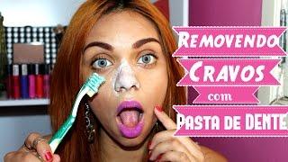 Como remover cravos no nariz  com Pasta de Dente!#Veda6 #RHAYtododia