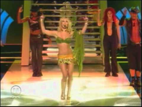 Britney Spears - Britney Spears - I'm A Slave 4 U [NRJ Awards 2002]
