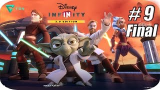 Disney Infinity 3.0 - Star Wars Twilight Of The Republic - Capitulo 9 Final - 1080p HD