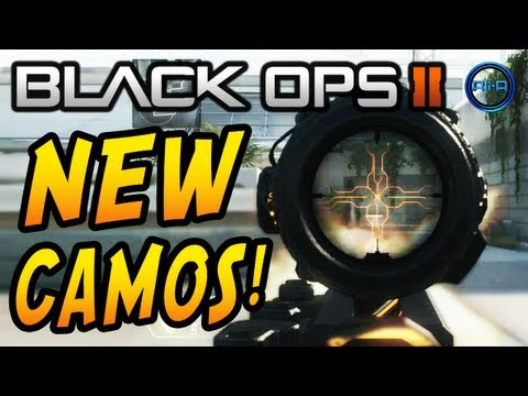 Black Ops 2 NEW CAMOS Trailer - DRAGON. COMIC BOOK. CYBORG & PALADIN Camo DLC!