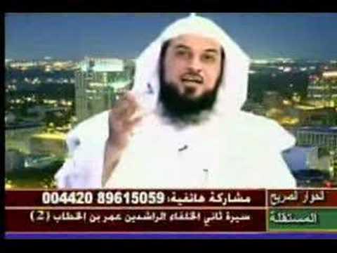 رد الشيخ العريفي الهادئ على أحد المشاهدين