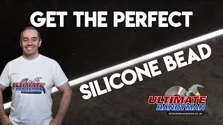 How to get a neat silicone line