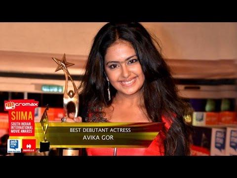 SIIMA 2014 – Best Debutant Actress Telugu || Avika Gor || Uyyala Jampala Photo Image Pic
