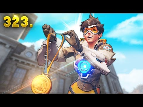 """WORLDS BEST TRACER """"Saebyeolbe""""   Overwatch Daily Moments Ep. 323 (Funny and Random Moments)"""