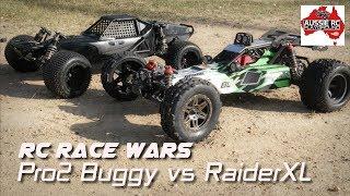 RC RACE WARS: RaiderXL vs Pro2 Buggy