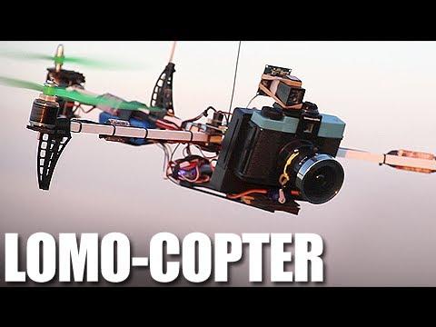 Flite Test - Lomo-Copter - Diana F+ Tricopter Camera