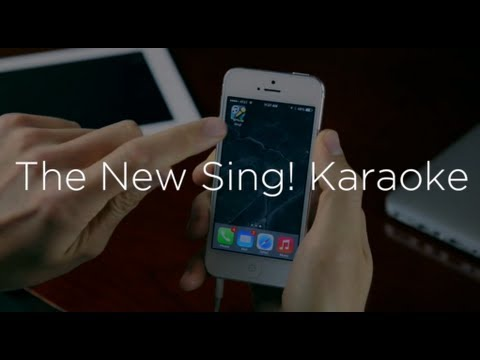 Smule | Sneak Peek of Sing! for iOS 7