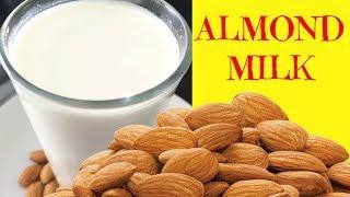 How to Make Almond Milk   Homemade Almond Milk