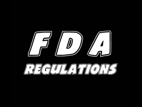 FDA Proposed Regulations On Vaping!