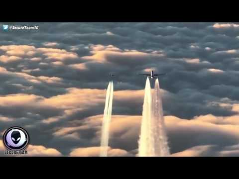 UFO Appears During Fighter Jet Intercept Of Airline 2/20/17